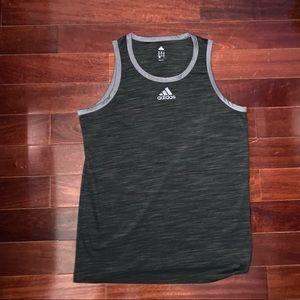 Adidas Black & Gray Tanktop
